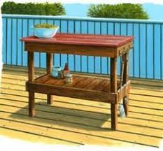 outdoor grill prep table outdoor kitchens to build free plans at planspin com