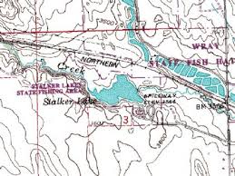 wray colorado map stalker lake wray colorado fishing report map by fish explorer