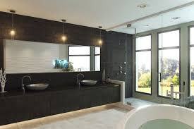 One Way Mirror Bathroom by Waterproof Tv Mirror Film One Way Bathroom Plus Retractable Mirror