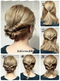 when were doughnut hairstyles inverted 100 quick hairstyle tutorials for office women quick hairstyles