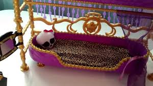 monster high clawdeen wolf bunk bed review youtube