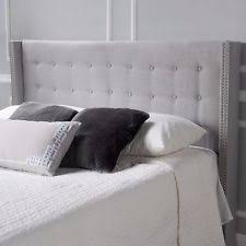 Black Upholstered Headboard Upholstered Headboard King Ebay