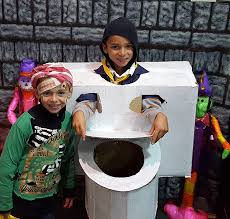 Toilet Halloween Costume Parks Rec Halloween Costume Contest Winners Shelburne