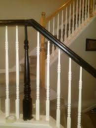 Home Depot Banisters Why Just White Love The Carpet Too For The Home Pinterest