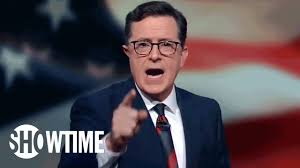 stephen colbert signs off on the 2016 presidential election live