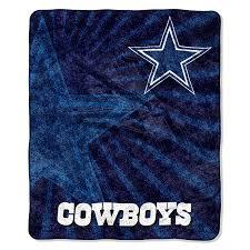 Cowboys Flag Amazon Com Nfl Dallas Cowboys Strobe Sherpa On Sherpa Throw 50