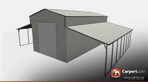 Barn Garage Top Quality Ridgeline Style Metal Barn Garage Carport Com Metal