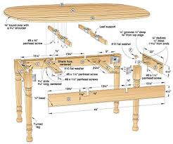 Drop Leaf Dining Table Plans Showing 21 Plans In Dining Room Furniture Just Wanted To Say Thank