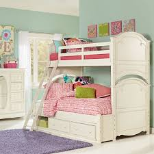 Bedding Bunk Beds For Girls Cheap Twin Room With Stairs Fonky - Girls white bunk beds