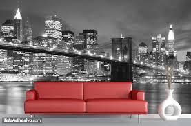 fotomurales puente de brooklyn fotomurales sitios famosos fotomurales puente de brooklyn