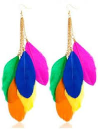 feather earrings for kids feather earrings buy feather earrings online at best prices