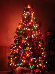 christmas trees with colored lights decorating ideas light up traditional christmas tree decoration 5 trendy mods com
