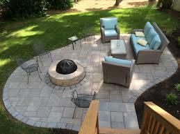 Fire Pit Backyard Designs by Decor Best Outdoor Patio Ideas With Winsome Unilock Fireplace
