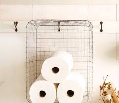 Storage Towels Small Bathroom by 14 Best Organizing Paper Towel Storage Ideas Images On Pinterest