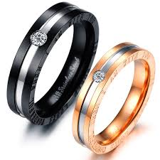 matching rings aliexpress buy 2 pieces hot selling his and hers matching
