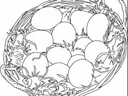 blank easter baskets easter basket coloring pages egg bunny book empty blank sensational