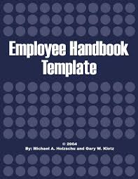 employee handbook template vnzgames