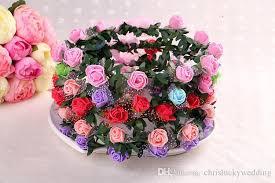 hair wreath bohemian terylene hair silk flowers headband garland crown wedding