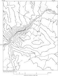 Grand Canyon On A Map Usgs Geological Survey Professional Paper 669 C