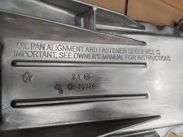 used chrysler oil pans for sale