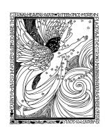 fairy coloring book coloring pages