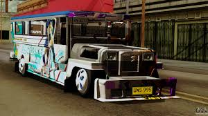 philippine jeep patok jeepney for gta san andreas