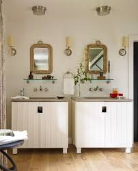 Beach Style Bathroom Vanity by Diy Beach Bathroom Bathroom Beach Style With Brown Countertop