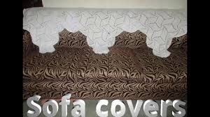 How To Make Sofa Covers How To Make Sofa Covers Using Crochet Hindi Youtube