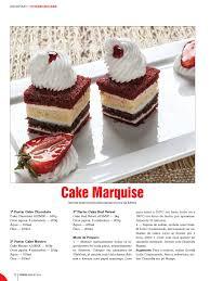 cuisine marquise cake marquise padaria postres individuales cake