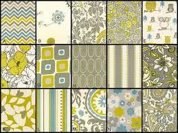 Yellow And Blue Curtains Pair Of Designer Custom Curtains Drapes Yellow Blue Green Grey