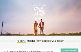 the best wedding websites unique wedding website exles to inspire you