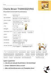 teaching worksheets brown thanksgiving