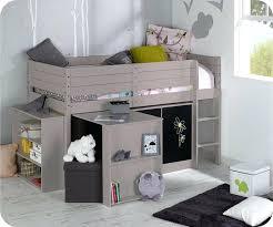 but chambre enfant lit mis hauteur image pour lit mi hauteur bureau babel a partir de