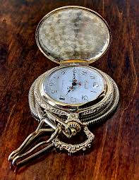 In Laws House by Old Pocket Watch Pocket Watch And House