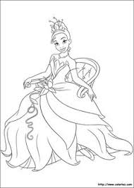 princess frog coloring picture princess frog