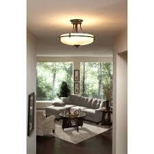 dining room lighting ideas dining room flush mount lighting griffin 3 light inch semi flush