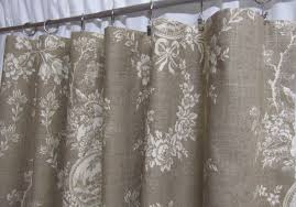 Country Curtains Country Curtains Neutral Toile Drapes Linen Colored With