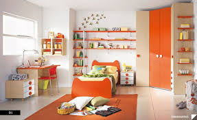 Orange And White Bedroom Bed Ideas Amazing Trendy Bold Color Comfy Kids Room Themed Kids