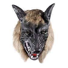best halloween mask big bad wolf black leather cosplay mask big bad wolf bad wolf