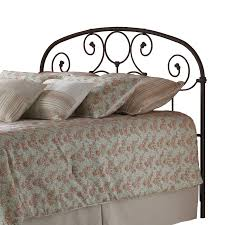 Country Style Headboards by Iron Headboard Country Style Scroll Work Rusty Gold