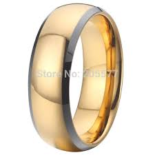 mens unique wedding ring aliexpress buy unique wedding band tungsten ring for couples