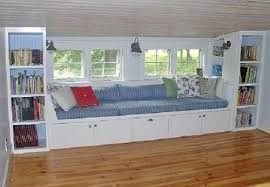 collection in window bench with storage with make it custom diy