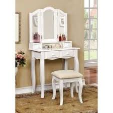 white makeup vanity table ashley wood white makeup vanity table and stool set white white