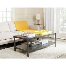 linon home decor camden black cherry built in storage coffee table