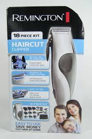remington haircut clipper 18 piece kit cut style hc 2000b nib