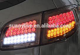 hyundai santa fe 2007 black for hyundai santa fe led light black color 2007 2012 buy