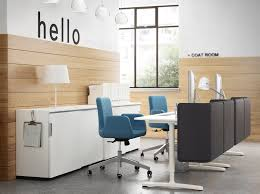 Small White Reception Desk by Ikea For Business Ikea