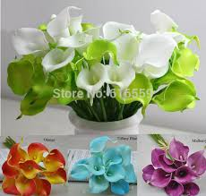 Cheap Flowers For Wedding Online Get Cheap Lilies Wedding Bouquet Aliexpress Com Alibaba
