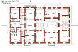 villa floor plans villa floor plans also tuscan plan house home building plans 42080