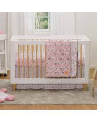 Baby Crib Bed Skirt Shopping Special Lolli Living Pink Dots Crib Bed Skirt